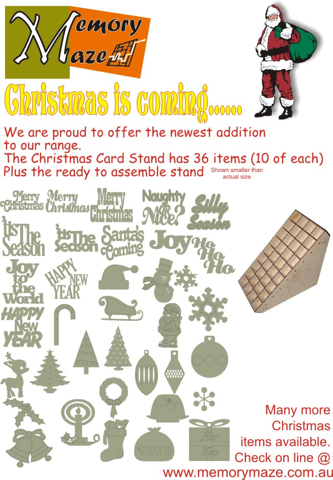 Christmas Card Full Kit 360 items