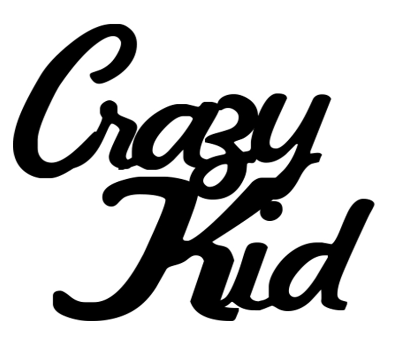 Crazy Kid    BULK PACK 5   63x53MM