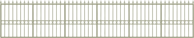 Fence Wrought Iron min buy 3