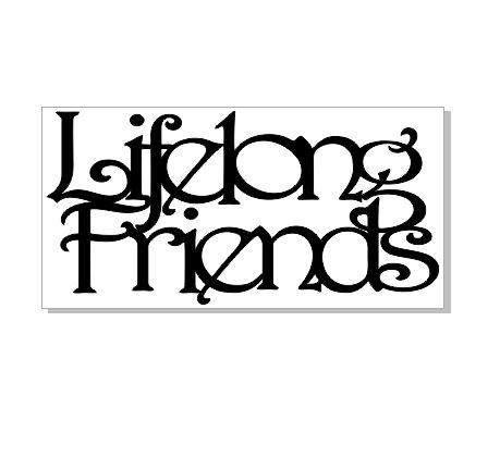 lifelong friends 100 x 50 sold in 3's