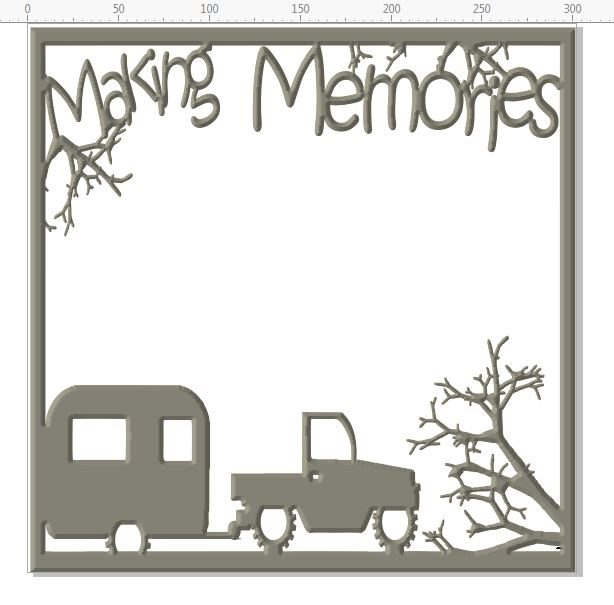 Making memories  12 X 12 LEAVE AS IT IS OR CUT IT UP
