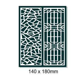 Maze 1 creative chipboard 140 x 180mm Min buy 3