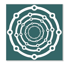 Nested circles chain 168 x 168  min buy 3