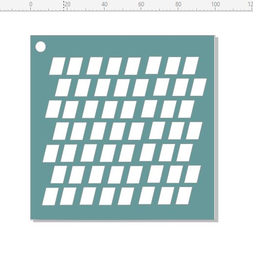Mini stencils offset boxes 4x4 stencil min buy 5