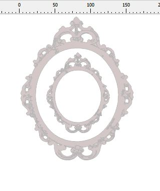 ornate oval frame 200 x 155 min buy 3