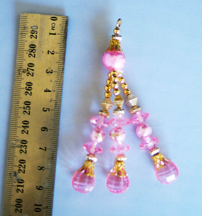 pretty pink and gold blingsal pack of 6