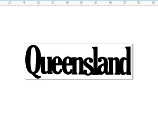 Queensland 75 x 25mm pack of 10