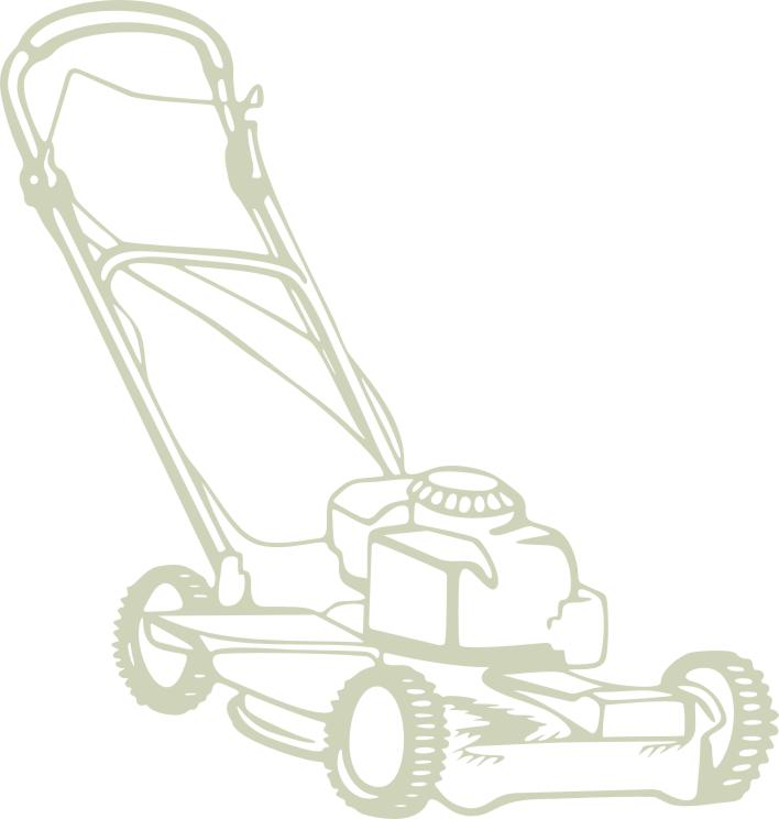 Lawn Mower 100 x 100mm min buy5