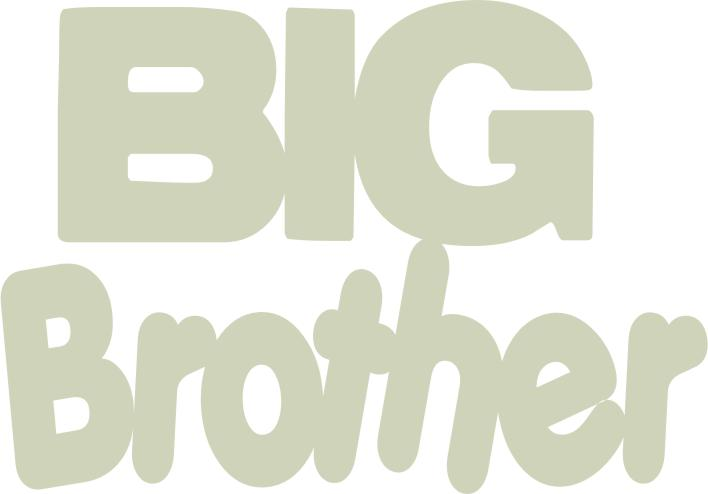 Big Brother 150mm x 100mm  min buy 3