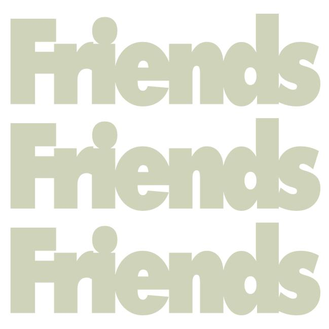 Friends 3 Up