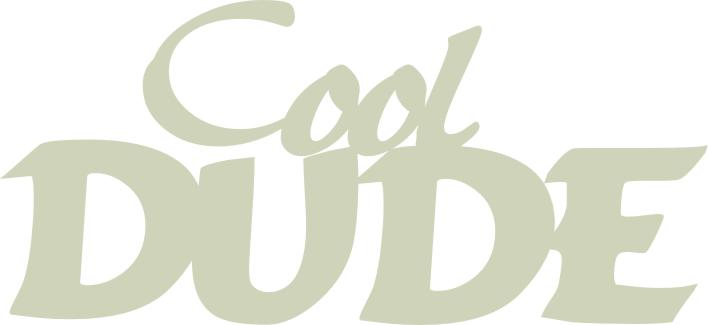 Cool Dude 150mm x 70mm  min buy 3