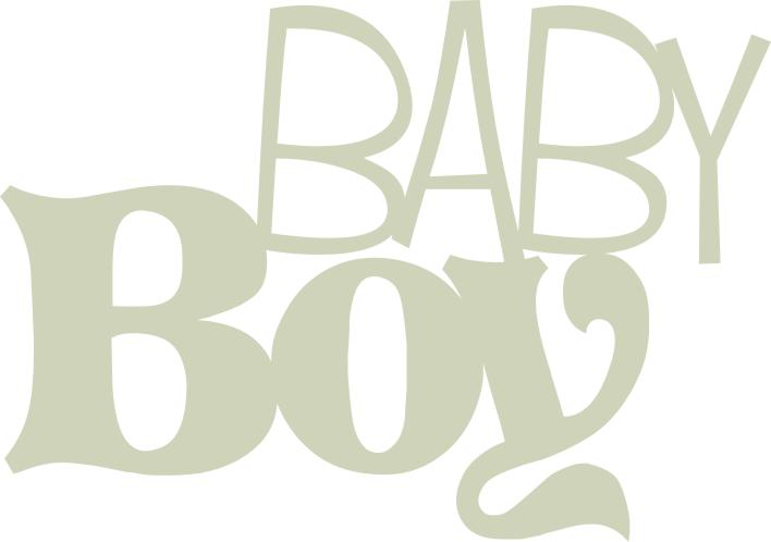 Baby Boy   150mm x 100mm  min buy 3
