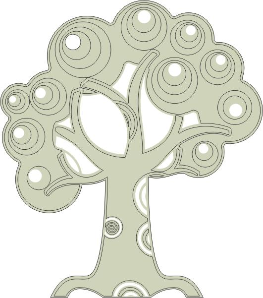 Tree with Swirls (Small)