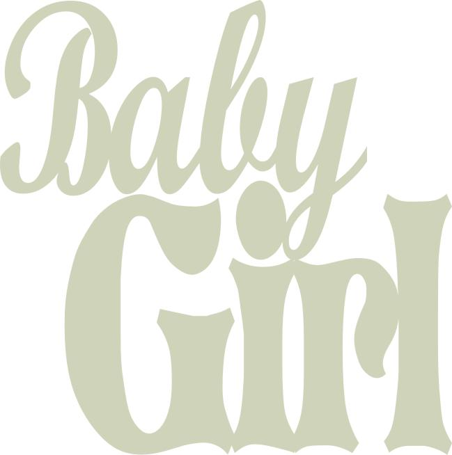 Baby Girl  70 mm x 70 mm  pack of 3   min buy 3
