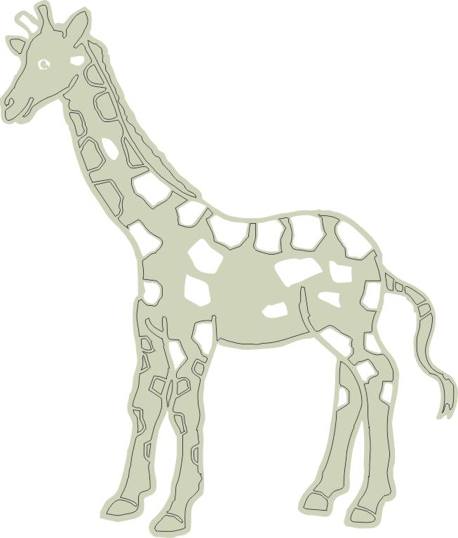 Giraffe  84 mm x 98 mm min buy 3