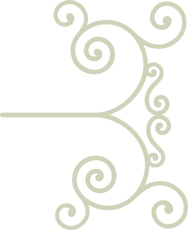 Wrought Iron 19  flourish min buy 3
