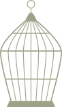 Bird Cage Plain 100mm x 165mm each  min buy 3