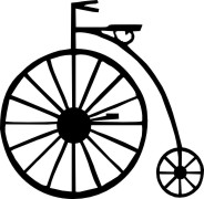 Penny Farthing medium