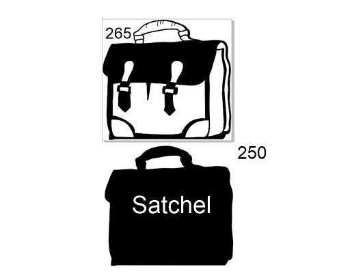 Satchell Book Cover 265 x 250 mm