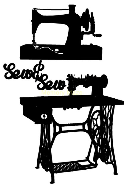 TREADLE SEWING MACHINE Sew 100 x 150 sold in 3's