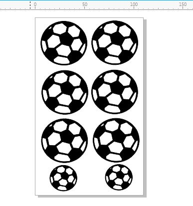 Soccer balls pack of 6