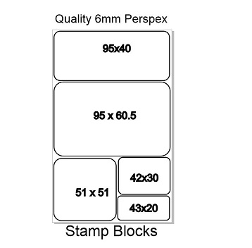 Acrylic Stamp Blocks Kit