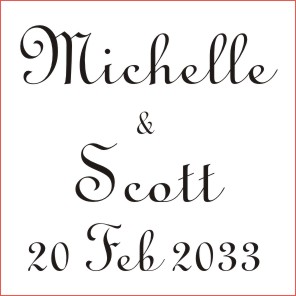 Wedding Stamp 5