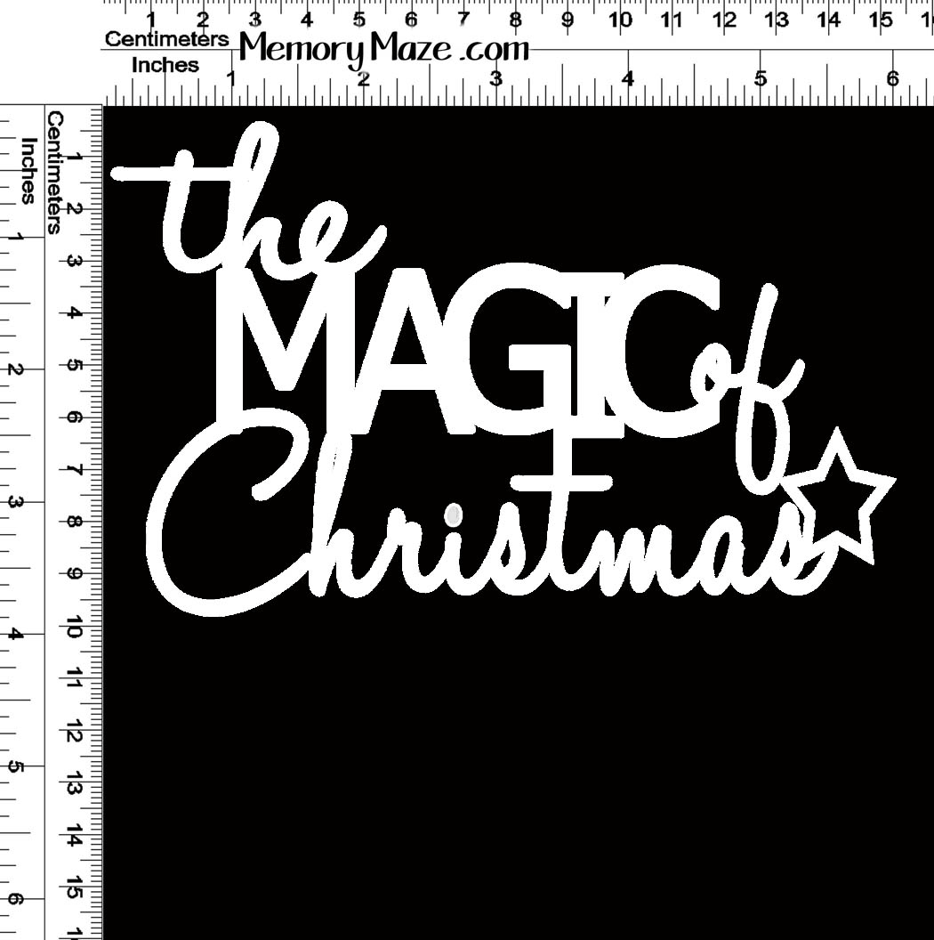 the magic of christmas 150 x 96 Min buy 3