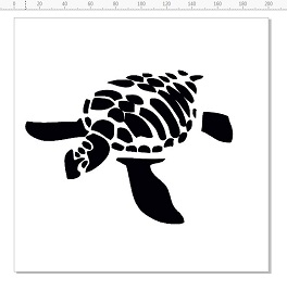 Turtle Stencil 200 x 200mm min buy 3