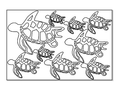 Turtle Multi Page ,100 x 150mm   Min buy 3