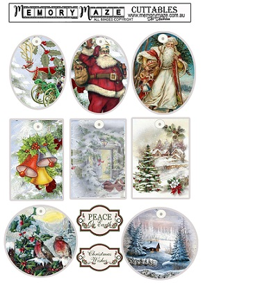 Christmas vintage tags. A$ Min buy 5.