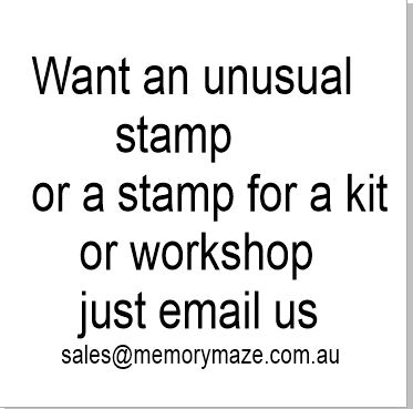 WANT A STAMP.Custom stamp design  Kits, workshops