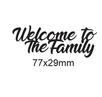Welcome to the family-