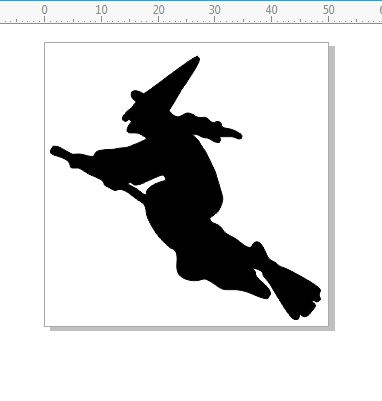 Witch 50 x 50 halloween,party,pack of 10