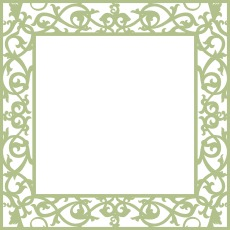 Wrought Iron Frame 3 Small